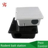 Estación del cebo del roedor del desvío del control de la rata del metal con la capa del polvo