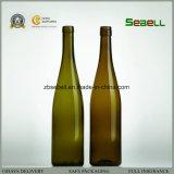 Na031 de Fles van de Wijn, de Antieke Groene Fles van 750ml Bourgondië Hoch