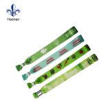 Wristband di sublimazione del poliestere stampato abitudine/Wristband del tessuto per il partito