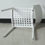 옥외 대중음식점 강한 쌓을수 있는 백색 플라스틱 의자 (SP-UC036)