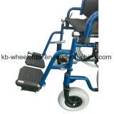 Habla de la rueda trasera de acero, silla de ruedas manual Kbw871