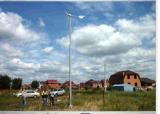generador horizontal de Widn del eje 400W para el sistema de iluminación Viento-Solar