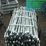 Стоячки горячего DIP гальванизированные стальные для поручней трапа и платформы
