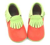 Maleável em Pele bonita único calçado barato Moccasins Bebé Grossista
