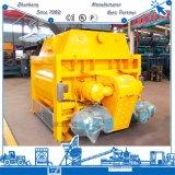 Eixo Js3000 gêmeo contínuo forçado 3000 litros de misturador concreto
