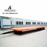 Rad-Flachbettbehälter-Ladung-Gepäck-voller Zugpendel-Schlussteil des Transportwagen-Schlepper-2