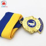 Presidente su ordinazione Royal Medal Gifts dell'oro del metallo della lega di Znic
