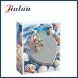 Оптовый Heart-Shaped мешок подарка камня напечатанный 4c бумажный