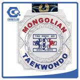 Горячее продавая медаль Taekwondo спорта пожалований трофеев