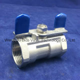 "CF8/CF8m/CF3/CF3m Butterfly Handle 1 "" 1PC Ball Valve"
