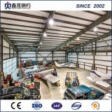 Edificios ligeros prefabricados de la estructura de acero del garage para la venta