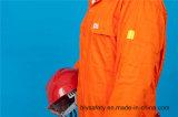 Uniforme bon marché élevé de Quolity de longue sûreté de chemise du polyester 35%Cotton de 65% (BLY1022)