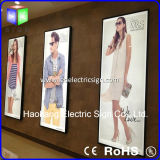 Painel de acrílico LED para Slim LED Light Box Menu Board
