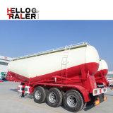 De China de fábrica del precio del bulto del cemento del tanque acoplado semi con forma de V