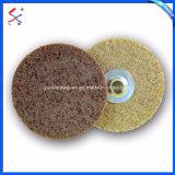 Fourni en usine de fabrication de fibres de nylon Non-Woven roues ronde
