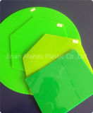Rote grüne orange Farben-Leuchtstoffform-Acryl-Blätter der Qualitäts-3mm dick