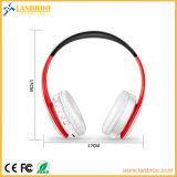 Cancelamento sadio de cristal estereofónico sem fio Foldable do ruído dos auriculares HD Bluetooth V4.1+EDR