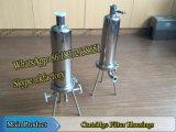 1/Hカートリッジフィルターステンレス鋼フィルターハウジング
