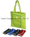 Venda por grosso de bolsas barato supermercado reutilizáveis Amiga do Saco de compras de mercearia Dom promocional impresso Personalizado Tecido Non-Woven Sacola Dobrável sacos de compras