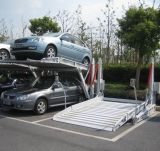 Опрокидывать гидровлический подъем стоянкы автомобилей автомобиля столба 2