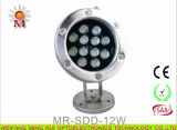 9W Multi Color LED Underwater Light