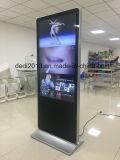 Fußboden 43inch, der androiden SystemLCD Digital Signage steht