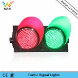 Luz roja de la señal de tráfico de la luz verde LED de la seguridad en carretera 300m m