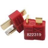 Conector em T de nylon Golden T-tampão para a bateria do CES