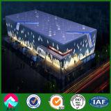 Exposición pasillo de estructura de acero del bajo costo 4s de China