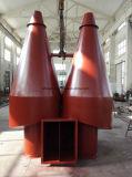 De hoge Collector van het Stof van de Cycloon van de Toepassing van het Gas van het Stof van de Concentratie