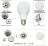 Iluminación del LED con 3 años de garantía y 10000 horas de vida