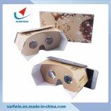 Cuffie avricolari 3.0 di Vr di vetro del cartone 3D di Google di prezzi e di alta qualità di fabbrica