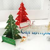 3D 크리스마스 나무 인사장
