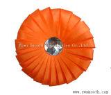 Fashion Rhinestone mousseline de soie Fleurs multicolores en dentelle décorative accessoires du vêtement