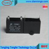CA Motor Ceiling Fan Capacitor (condensatore CBB61 per il ventilatore)