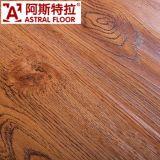 木の積層のフロアーリング、防水AC3 AC4 E1 HDFの積層のフロアーリング