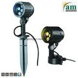 Projector jardim exterior 15W Holofote LED de luz da paisagem