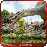 В натуральную величину игрушка динозавра Animatronic тематического парка с голосом