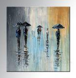 100% hechas a mano de pintura abstracta (KVP-106)