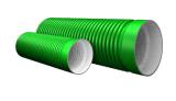 공장 지하 하수구를 위한 두 배 벽 HDPE 물결 모양 관