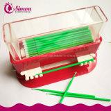 Lash práctico cepillo aplicador desechable Micro Cepillos de limpieza