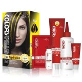 Tazol Cosmetic Highlights Couleur des cheveux (Lemon Yellow) (60ml * 2 + 30ml + 60ml + 10ml)