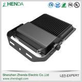 Luz de inundación aletada excelente de Cooller SMD 150W LED de la cubierta de aluminio al aire libre de Shenzhen