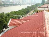 A telha de telhado da resina sintética/corrugou folhas plásticas da telhadura/materiais de telhadura de pouco peso