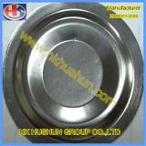 Zubehör-China-runder Metalldeckel, Blech-Teile (HS-SM-0029)