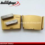 Этапы диаманта скрепления HTC средства 100# меля для бетона