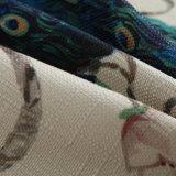 Cassa stampata coperchio decorativo di tela spesso personalizzata del cuscino di manovella dell'ammortizzatore del cotone