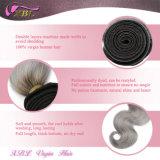 Не плохой запах серебристый цвет кузова серый Бразилии кривой Реми волос