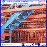 Ce / ISO 2-3 Floors Steel Mezzanine Rack para armazém de armazenamento