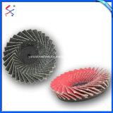 Fabricado na China a retífica do Disco de lixa abrasiva fabricante do disco da aba de metal